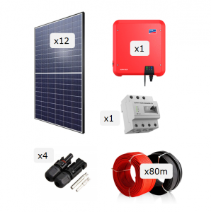 Kit Fotovoltaica 3.600 W (5.916 kWh/any)