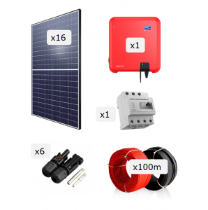 Kit Fotovoltaica 5.000 W (7.888 kWh/any)