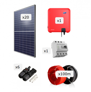 Kit Fotovoltaica 6.000 W (9.860 kWh/any)