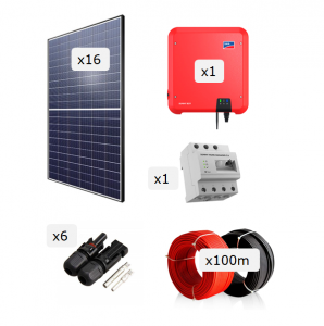 Kit Fotovoltaica 6.000 W (9.512 kWh/any)